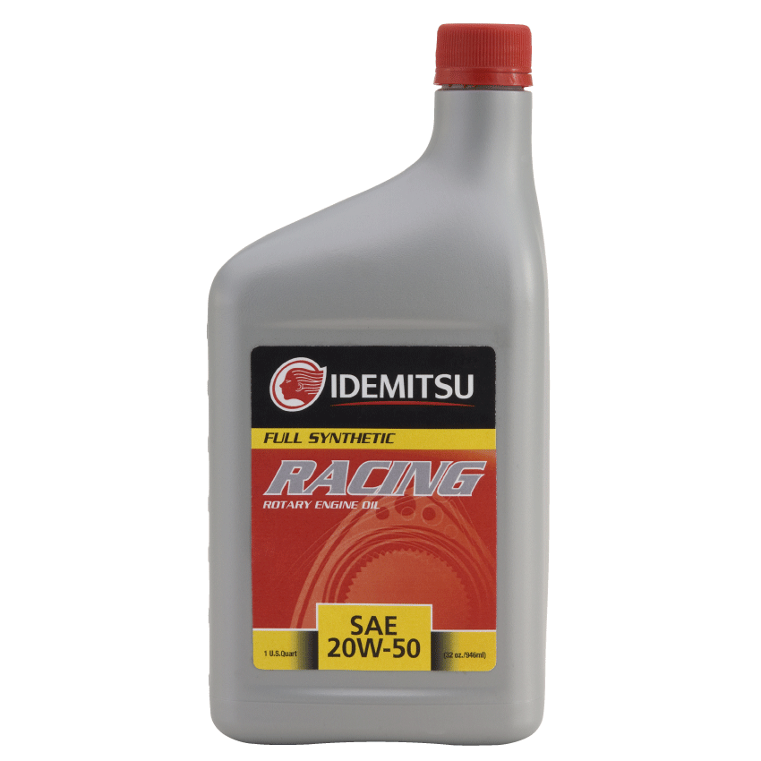 Idemitsu Racing Rotary Engine Oil 20w50 (Full Synthetic) 1 Quart